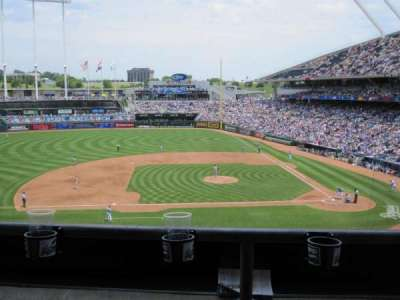 Kauffman Stadium, section: 307, row: B, seat: 9