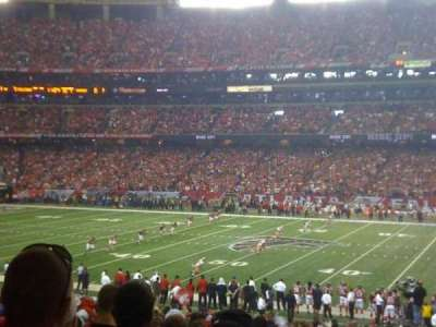 Georgia Dome section 114