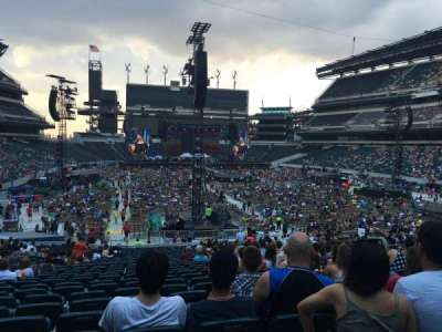 Lincoln Financial Field, section: 109, row: 31, seat: 9-10