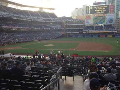 PETCO Park, section: 111, row: 32, seat: 1
