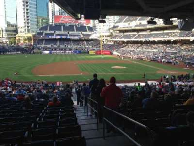PETCO Park, section: 112, row: 42, seat: 1