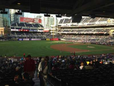PETCO Park, section: 118, row: 43, seat: 1