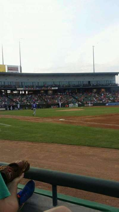 Dell Diamond section 125