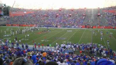 Ben Hill Griffin Stadium, section: 4, row: 39, seat: 6