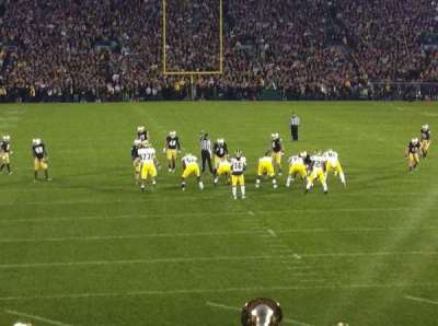 Notre Dame Stadium, section: 1, row: 23, seat: 26