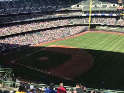 Miller Park, section: 411, row: 16, seat: 11