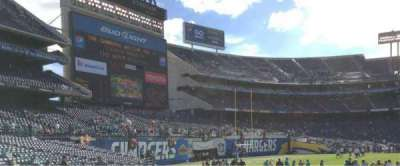 Qualcomm Stadium, section: F4, row: 12, seat: 1