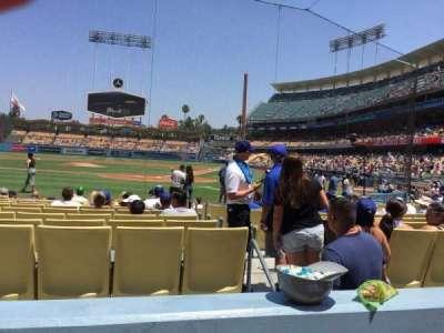 Dodger Stadium, section: 5fd, row: B, seat: 9