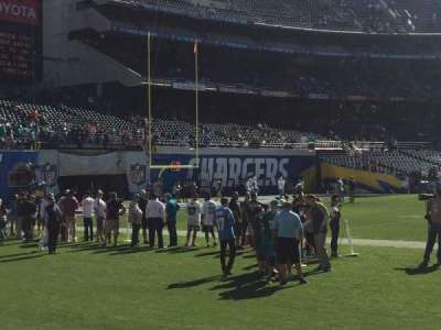 Qualcomm Stadium, section: LF4, row: 2, seat: 12