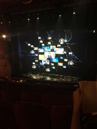 August Wilson Theatre, section: Right Mezzanine, row: D, seat: 10
