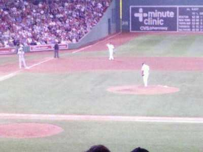 Fenway Park, section: Grandstand 16, row: 8, seat: 5