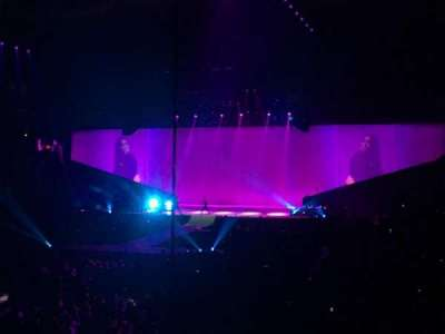 KeyArena, section: 110, row: 16, seat: 6