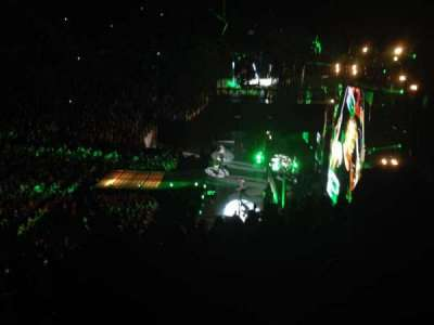 KeyArena, section: 117, row: 27, seat: 10