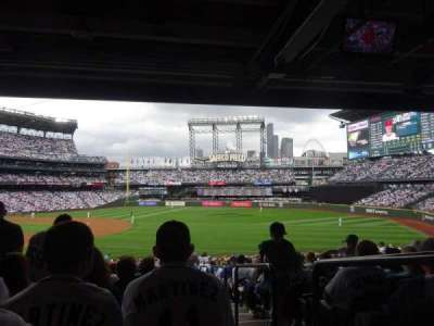 Safeco Field, section: 117, row: 40, seat: 1
