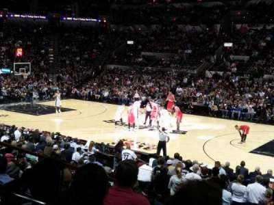 AT&T Center, section: 106, row: 20, seat: 1