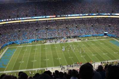 Bank of America Stadium, section: 516, row: 26, seat: 14