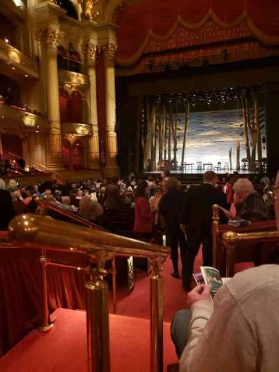 Academy of Music, section: Parquet Circle D, row: U, seat: 2