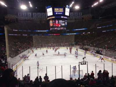 Prudential Center, section: 2, row: 17, seat: 10