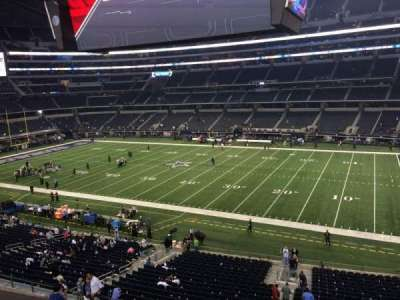 AT&T Stadium, section: C307, row: 1, seat: 10