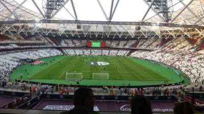London Stadium section 222