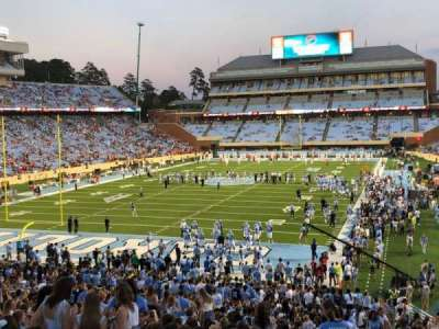 Kenan Memorial Stadium, section: 118, row: WC, seat: 46