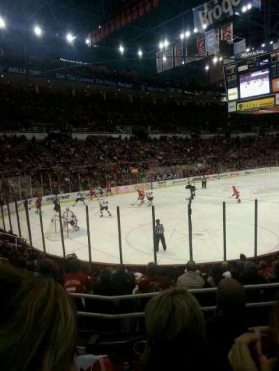 Joe Louis Arena, section: 112, row: 12, seat: 6