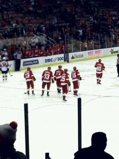 Joe Louis Arena, section: 112, row: 12, seat: 6