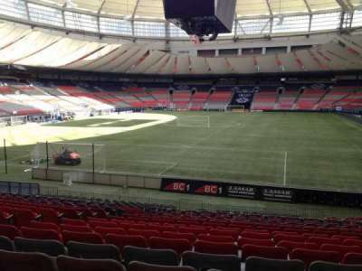 BC Place, section: 253, row: U, seat: 7
