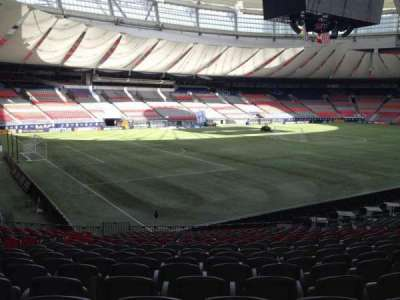 BC Place, section: 248, row: U, seat: 8