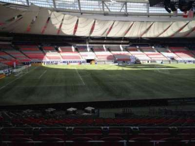 BC Place, section: 245, row: U, seat: 8