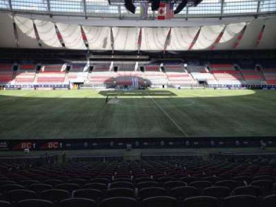 BC Place, section: 242, row: U, seat: 8