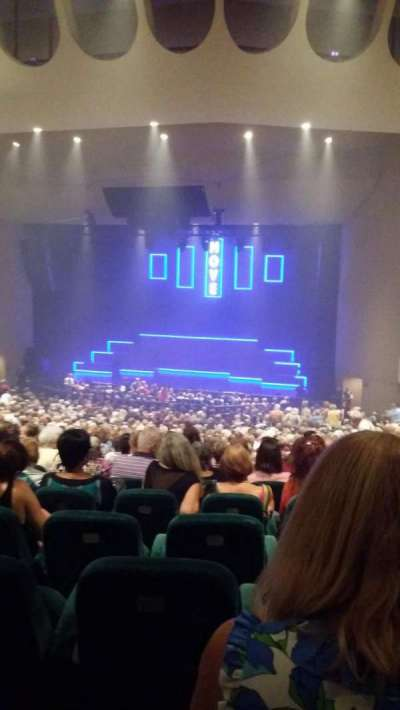 Ruth Eckerd Hall, section: 14, row: jj, seat: 25