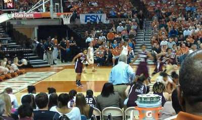Frank Erwin Center, section: 49, row: 9, seat: 10