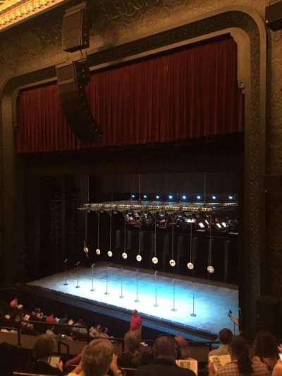 New York City Center, section: Mezz, row: A, seat: 16