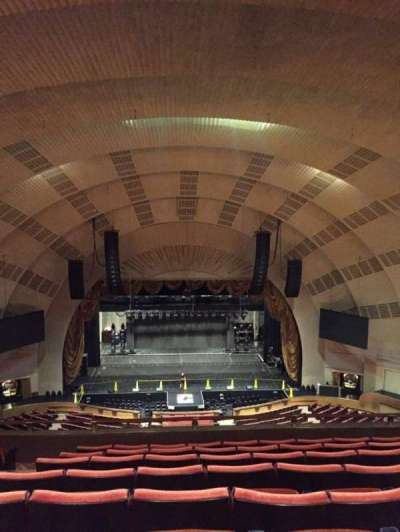 Radio City Music Hall, section: 3rd Mezzanine 4, row: H, seat: 411