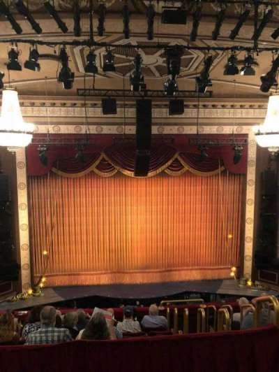 Imperial Theatre, section: Rear Mezz, row: A, seat: 11