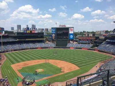 Turner Field, section: 405L, row: 7, seat: 103