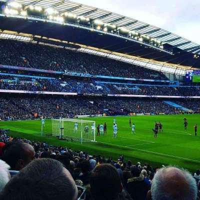Etihad Stadium (Manchester), section: L1, row: U, seat: 342