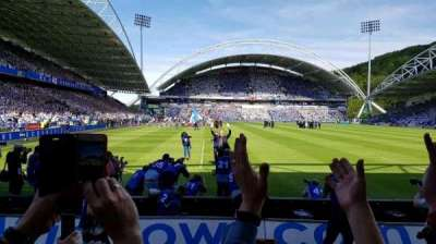 John Smith's Stadium, section: CL05, row: C, seat: 113