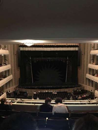 The Smith Center, section: Dress circle left, row: E, seat: 206