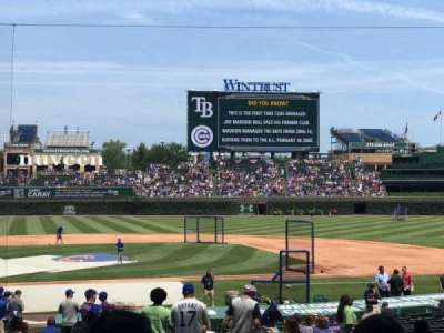 Wrigley Field, section: 127, row: 15, seat: 104