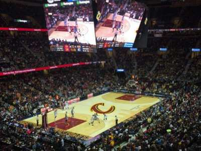 Quicken Loans Arena, section: 104, row: 30, seat: 3