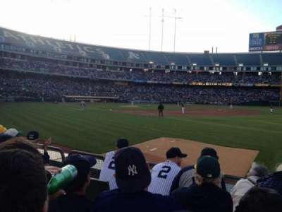 Oakland Alameda Coliseum, section: 107, row: 5, seat: 9