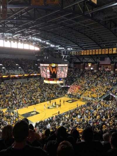 Mizzou Arena, section: 212, row: 8, seat: 12