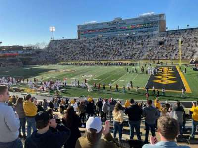 Faurot Field, section: 109, row: 31, seat: 16