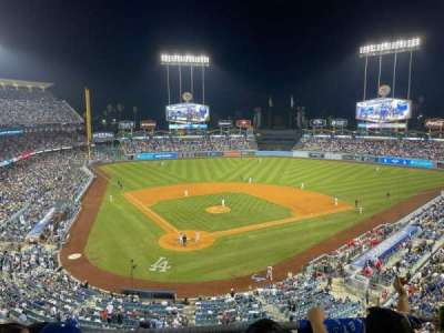 Dodger Stadium, section: 4RS, row: C, seat: 8