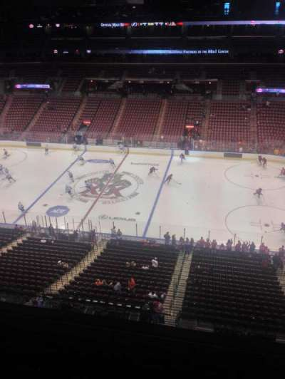 BB&T Center, section: 417, row: 2, seat: 1