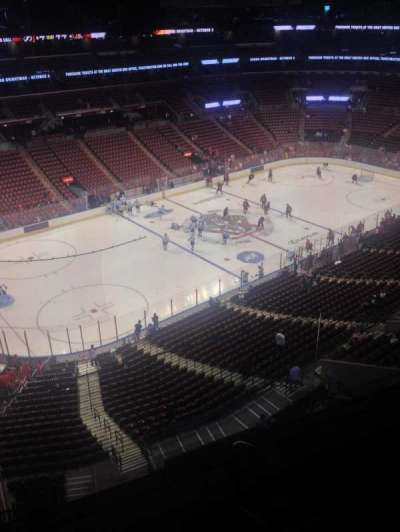 BB&T Center, section: 422, row: 2, seat: 1