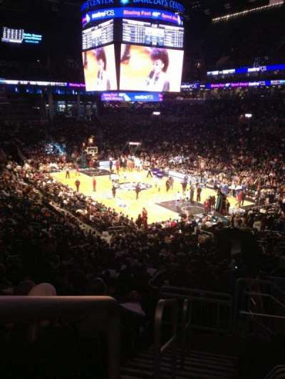 Barclays Center, section: 118, row: 9, seat: 21