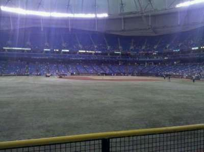 Tropicana Field, section: 147, row: v, seat: 15
